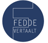 FEDDE VERTAALT Logo